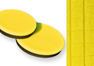 BRAYT INDUSTRY SQUARE  POLISHING FOAM YELLOW